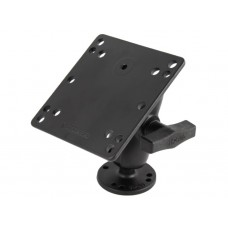 "1.5"" Ball Mount with Short Arm, 2.5"" Round AMPS Base & 4.75"" Square VESA Plate"